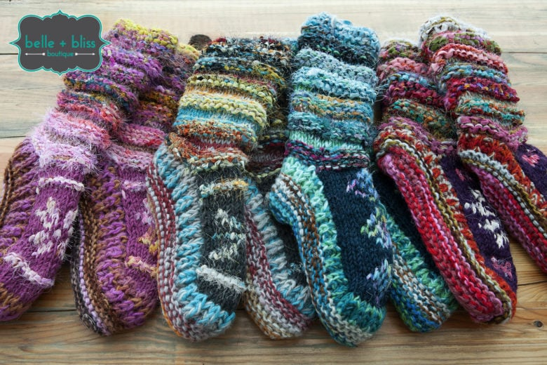 Wool Slippers from Belle + Bliss Boutique