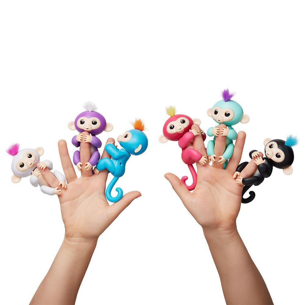 fingerlings are predicted to be the hatchimal of 2017 theyre similar to furbies in that they respond to sound and touch except theyre smaller