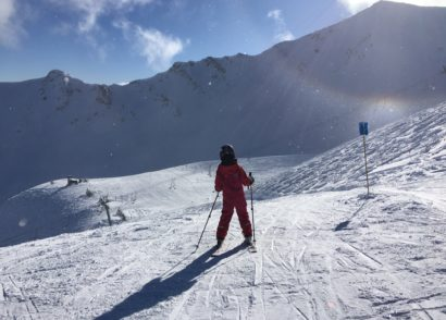 Marmot Basin offers family skiing in Jasper