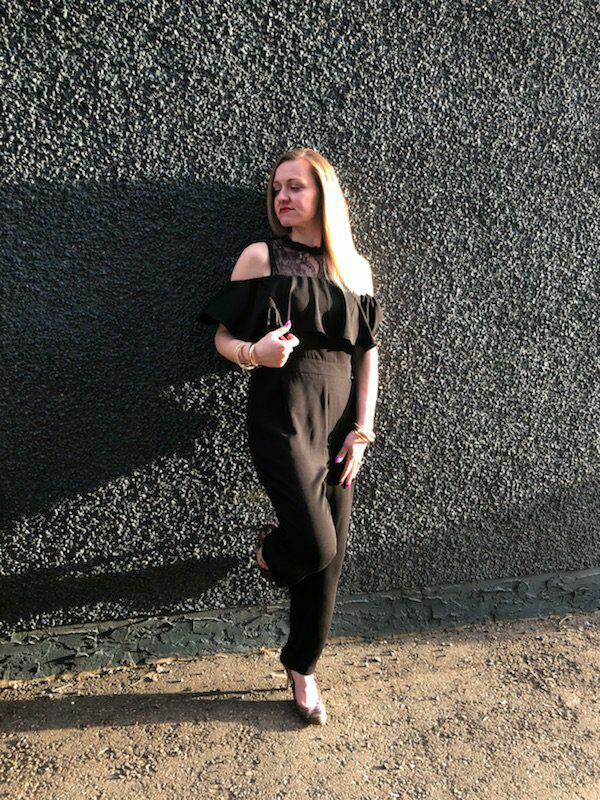 A jumpsuit is a new spring fashion must have!