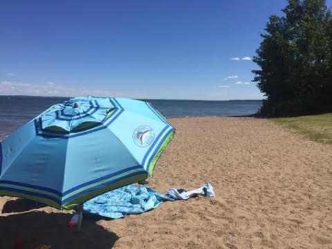 Camping at Pigeon Lake Provincial Park