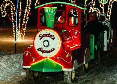 Christmas Lights around Calgary